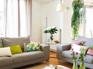 Evde Çiçek Dekorasyonu