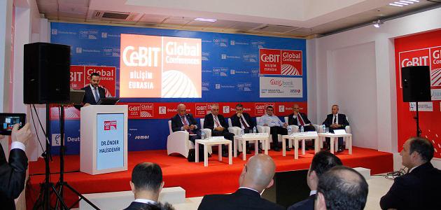 CeBIT Eurasia'da EKent standına büyük ilgi