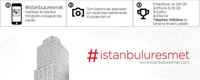 Sosyal medyada İstanbul'u resmettiler!